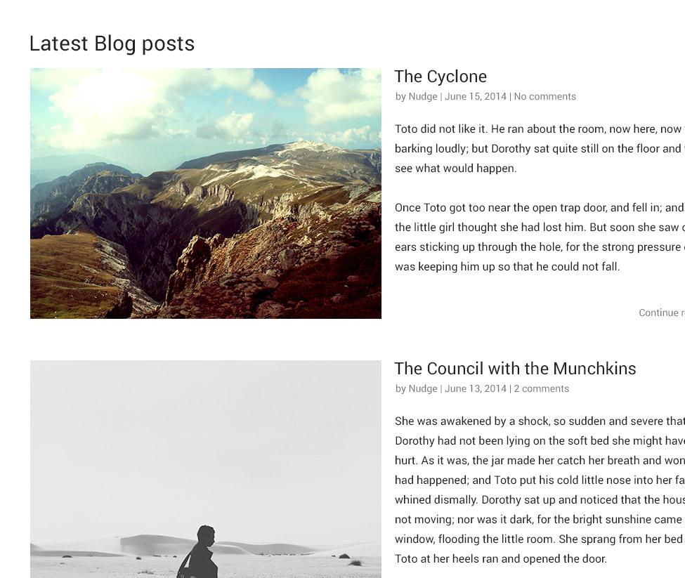 National theme posts screenshot
